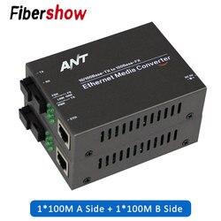 Phương Tiện Truyền Thông Bộ Chuyển Đổi Quang Để RJ45 UTP 1310/1550 Sợi Switch Sợi 10/100M Fibra Optica Thu Phát