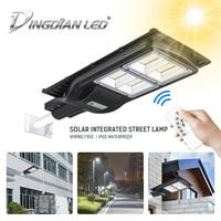 Solar Waterproof Led Street Lamp Radar Induction Light Control Solar Energy 60W/120W/180W240W LED Flood Light Lamp Outdoor Lamp