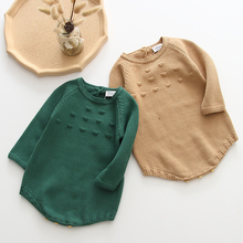 Newborn Baby Girls Boys Knitted Romper Baby Clothes