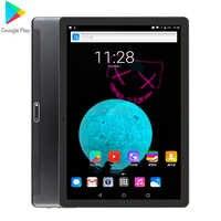 Super Gehärtetem 2,5 D Glas 3G 4G FDD LTE 10 zoll tablet pc 128GB ROM IPS Bildschirm WIFI Android 9,0 GPS