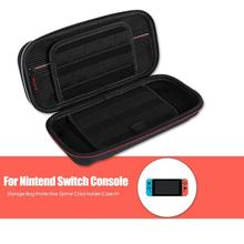 EVA Carring Storage Bag for NS Switch Case Protective Game Card Holder Case Fit for Nintend Switch Console Game Accessories nintend switch case hard protective durable carry bags handheld box bag with game holder for nintendo switch game accessories
