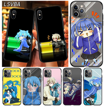 Black Cover Enom Takane for Apple iPhone 12 Mini 11 XS Pro Max X XR 8 7 6 6S Plus SE 2020 5 5S Phone Case image