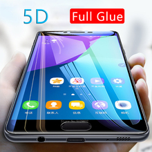 5d full glue tempered glass for samsung a5 a6 a7 a8 plus a9 2018 protective glas