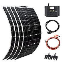 Комплект гибкой солнечной панели 400 Вт 12 В 24 4 шт 18 в 100