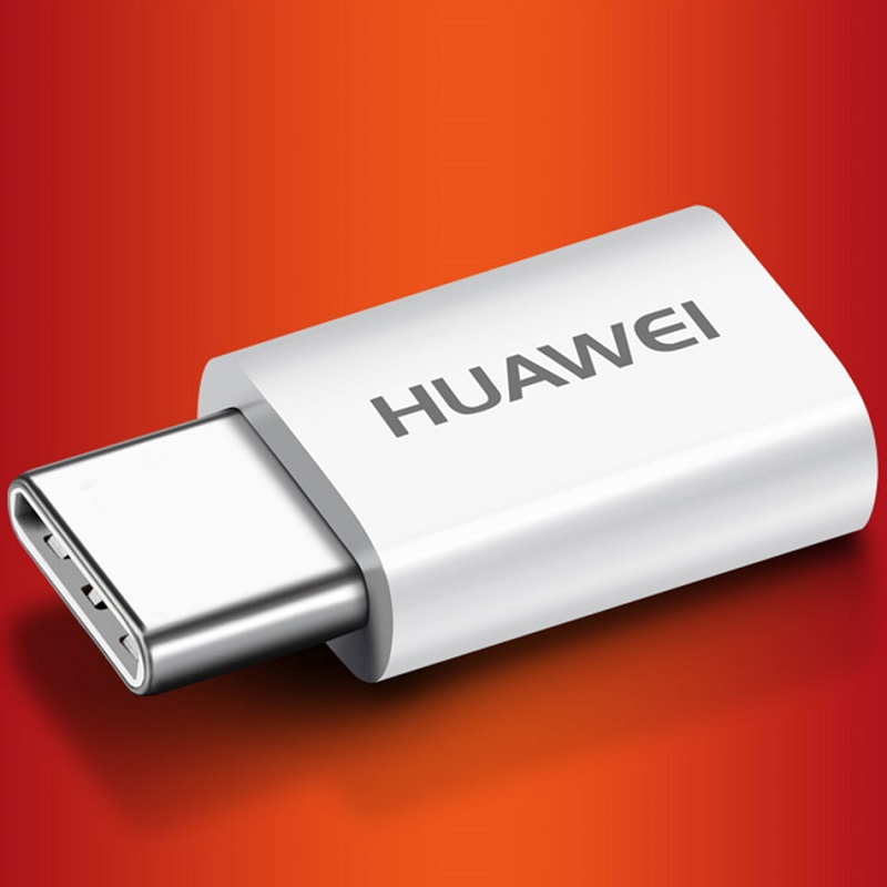 Huawei Adapter Micro USB To USB C Type C Converter Original Type-C Charging Cable Snelle Oplader Huawei P20 Pro Lite P10 P9 Plus
