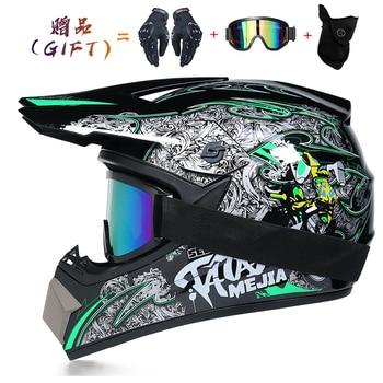 Motor Bike Cross Racing Motorcycle Helmet Safety Enduro Capacete Motorrad Cascos Downhill Bicycle Engine Cafe Racer ATV Helmets 11