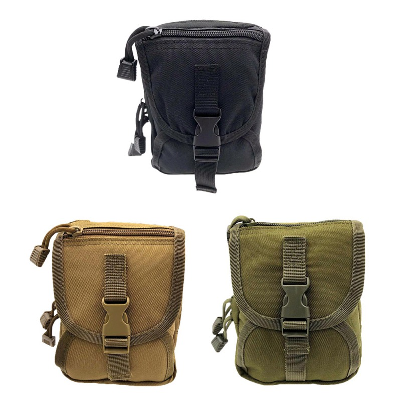 Tactical Outdoor Sports Small Pockets Multi-functional Belt Pouch Storage Bag Military Accessory Bag Waist Bag