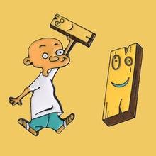 Sp742 аниме эмаль на булавке милый мальчик брошка мультфильм