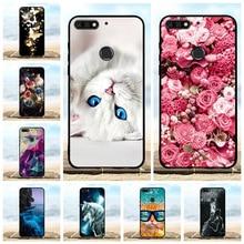 For Huawei Y7 2018 Prime Pro Case Soft TPU Honor 7C Cover Dog Patterned Enjoy 8 Nova 2 Lite Shell