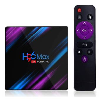 RK3318 H96 MAX Smart TV Box Android 9.0 4GB RAM 64GB ROM 32G 4K WiFi Media Player Google Voice Netflix Youtube 2G16G Set Top BOX
