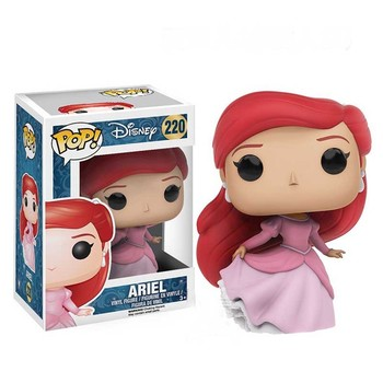 Funko POP Disney Princess Belle Tangled Ariel Cinderella Tiana Action Figure Toys Vinyl Dolls for Kids Birthday Gifts 4