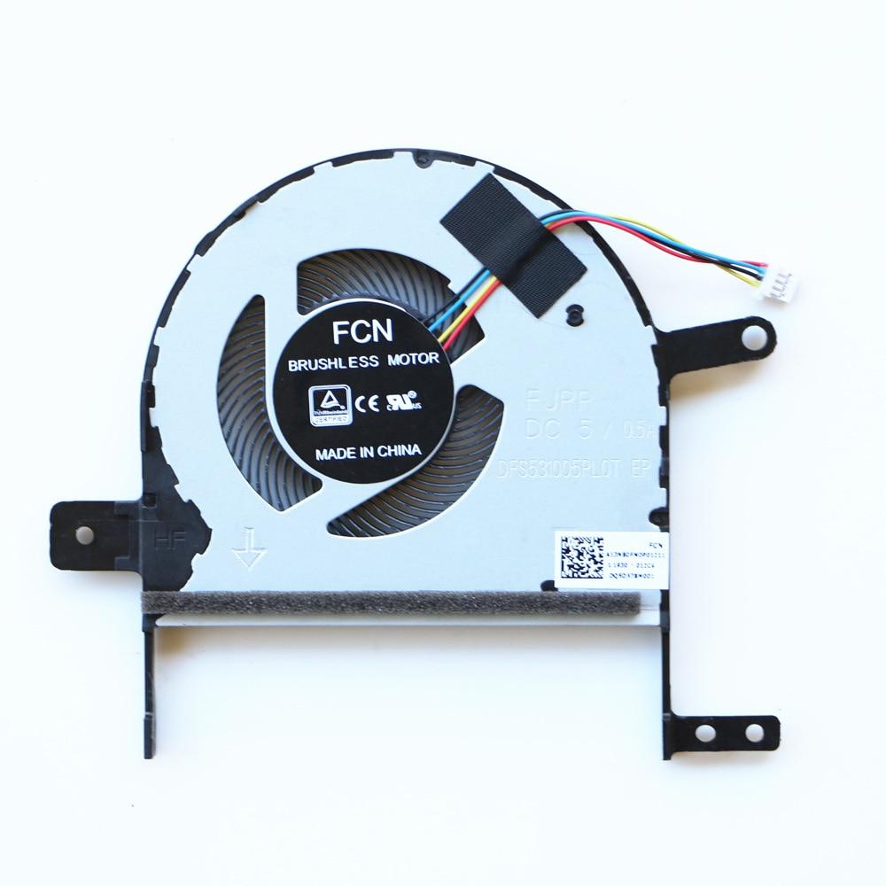 Laptop Replacement Cooler Fan For ASUS S510U X510U X510UAR S510UQ S510UA F510U CPU Cooling Fan DFS531005PL0T FJPP