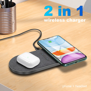 Image 3 - FDGAO 2 in 1 30W Wireless Charger for iPhone 12 Pro Max Mini 11 XS XR X 8 Airpods Qi Dual Fast Charging Pad For Samsung S21 S20