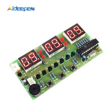 C51 Digital Electronic Clock DIY Kits 6 Digit Electronic