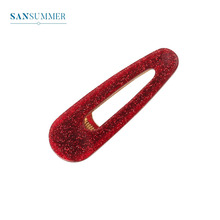 Sansummer New Hot Fashion Feautiful Boho Romantic Simple Party Elegant Party Stage Hair Clip For Women Jewelry Red Hairwear цена