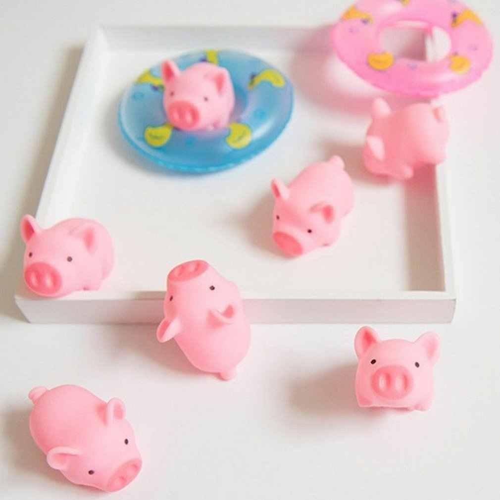 MINI Squishy ของเล่นหมูสีชมพู Antistress บอลบีบ Mochi Rising ของเล่น Abreact นุ่มเหนียว Squishi ความเครียดบรรเทาของเล่นของขวัญตลก