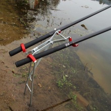 Outdoor Foldable Adjustable Bracket Fishing Rod Stand Holder Sea Fishing Tackle Accessory Tool