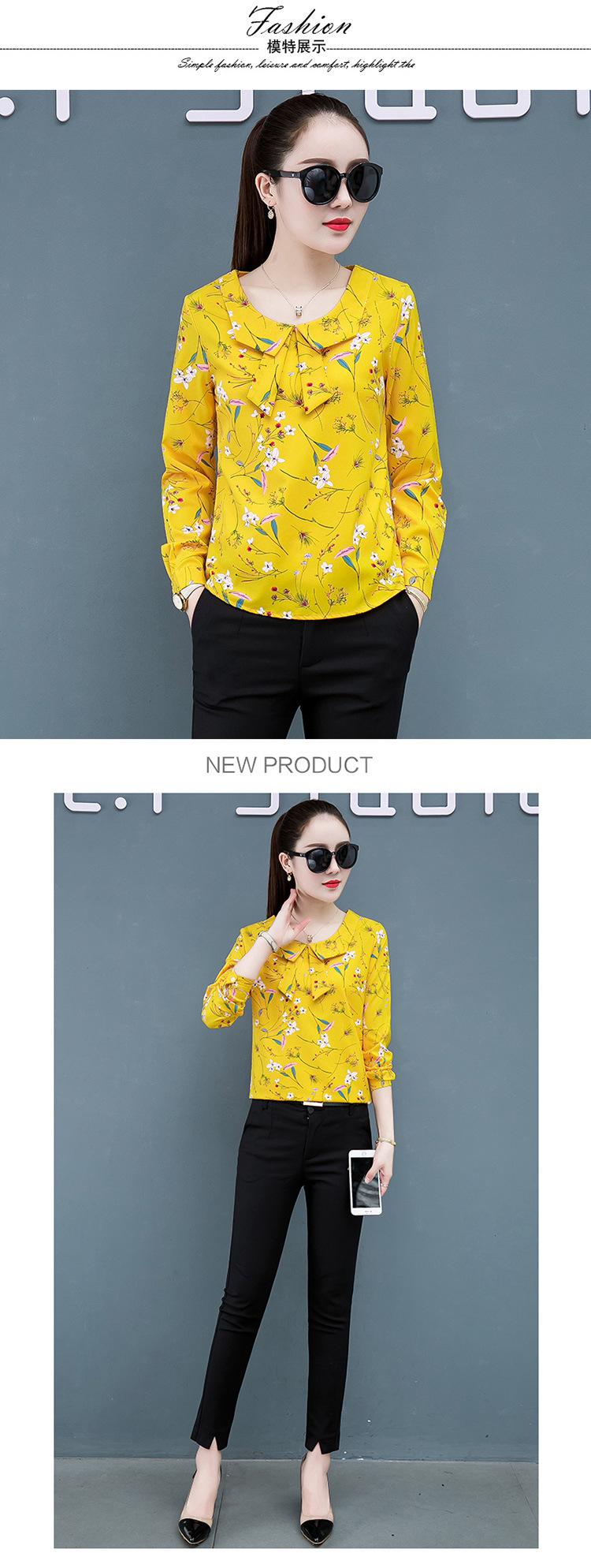 Весенние женские рубашки с длинным рукавом Одежда blusas mujer