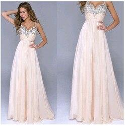 Женское шифоновое вечернее платье без рукавов с глубоким v-образным вырезом и открытой спиной, вечерние платья, Vestido De Fiesta