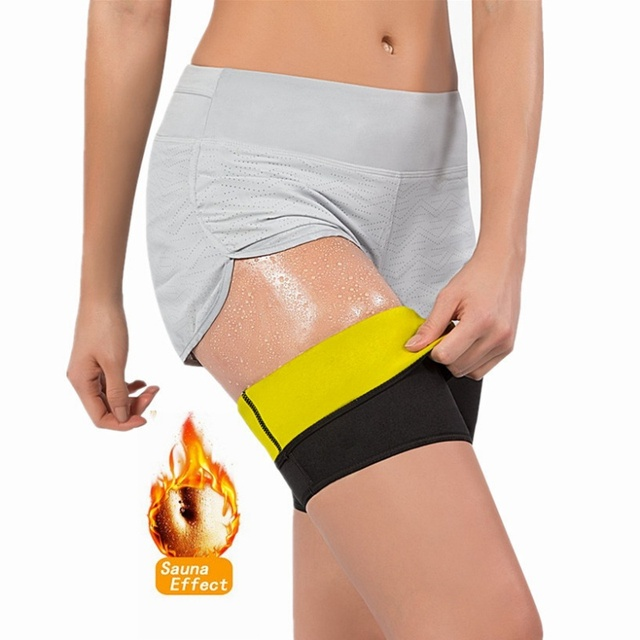 Women Body Shaper Sauna Slimmer Arm Thigh Leg Trimmer Sleeves Compression Belt Sweat Shaping Fat Burning Leg Warmers Corset