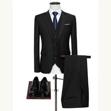 Mens suit Slim Fit wedding men suits groom suit Business Casual Classic men suit formal suit male tuxedo mens grooming plus 6XLSuits