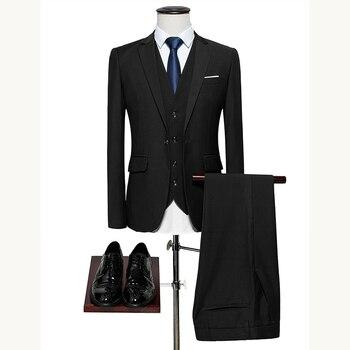 Men's suit Slim Fit wedding suit suits for men Business Casual Classic men suit 2 piece male set tuxedo mens grooming plus M-6XL