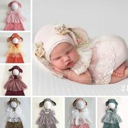 Наряды, шапка с заячьими ушами, комплект одежды для новорожденных, реквизит для фотосессии, Детские аксессуары для фотосессии, Фотостудия
