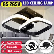 Металлический потолочный светильник с регулируемой яркостью, светильник, светильники, акриловая домашняя лампа для коридора, прохода, ...