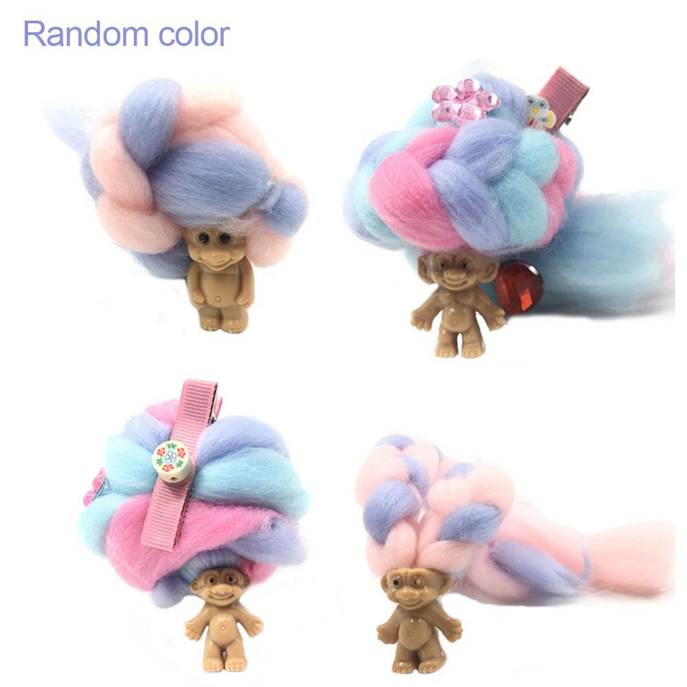DIY Handmade Hairdressing Dolls Early Education Toys Safety Materials Non-toxic And Non-irritating Including Hairpins, Etc.
