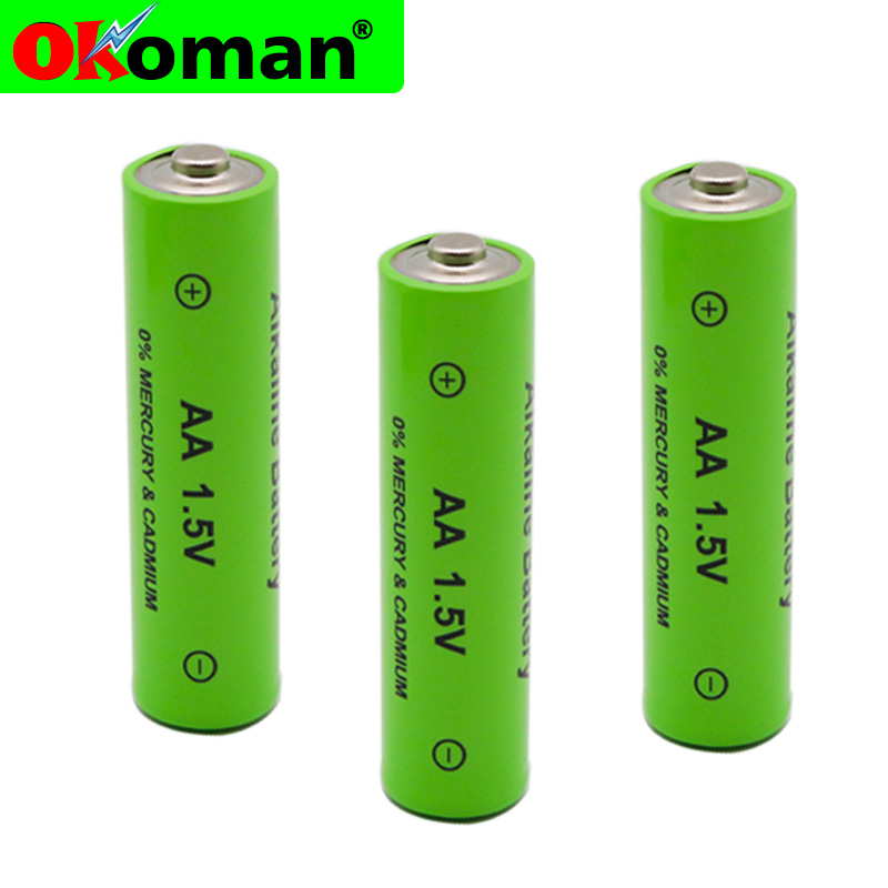 8pcs/lot New Brand AA rechargeable battery 3000mah 1.5V New Alkaline Rechargeable batery for led light toy mp3 Free shipping