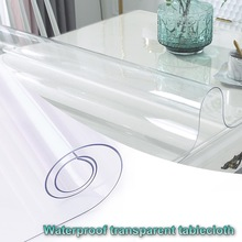 Tablecloths Carpet-Protector Desk-Mat Vinal Clear Transparent PVC 1-2mm Acrylic Office