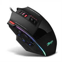 Mouse for Gamer Wired-Gaming-Mouse Light Adjustable 10000DPI 13 C-13 Belt RGB Built-In-Counterweight-Mechanism