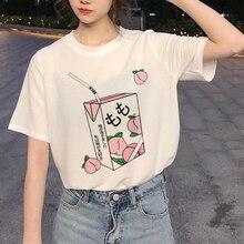 New Harajuku 90s Graphic T Shirt Women Ullzang Funny Printed