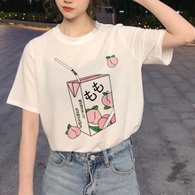 New Harajuku 90s Graphic T Shirt Women Ullzang Funny Printed T-shirt Grunge Aesthetic Fashion