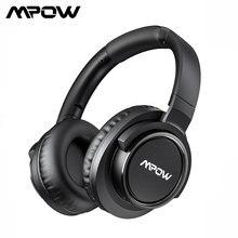 Mpow H18 ワイヤレス bluetooth オーバーイヤーヘッドフォンアクティブノイズキャンセル用 17 メートル/56ft bluetooth 範囲 & 50 時間再生時間