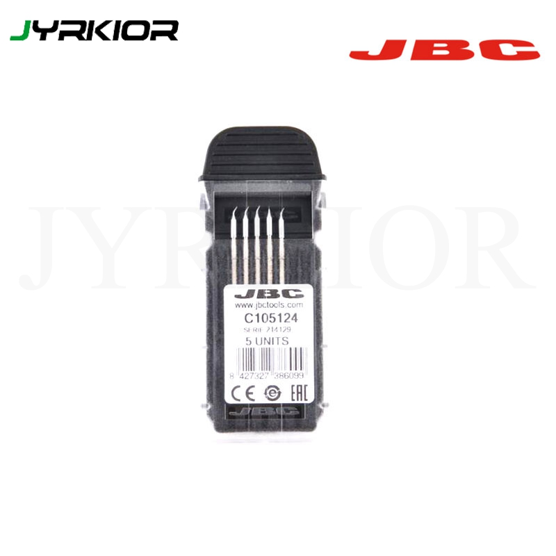 Jyrkior JBC Precision NT105-A NP105 NANE/NASE NANO Soldering Iron Tip C105124 Tip Original Welding Nozzle For Welding Work