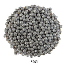 Magnesium(Mg) Particle Metal Negative Potential Magnesium Granule Balls Metal Granule Bean Sphere Water Filters 50G/100G(China)