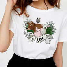 vegan Save The Bees t shirt 2019 t-shirt tshirt women tee shirts korean kawaii harajuku ulzzang female top graphic 90s Korean