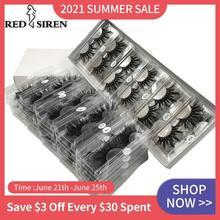 25mm Lashes Wholesale 10-50 Pairs / Lot Mink Eyelashes Dramatic Long Natural Lashes Full Strip Eyelash Make Up 3d Mink Lasehs