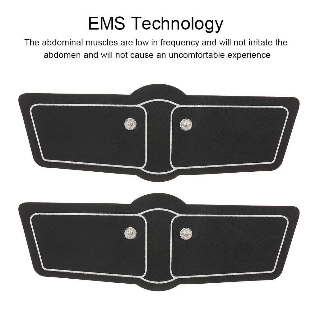 2 sztuk ramię uda stymulator EMS Muslce ramię uda naklejki trener żel w celu uzyskania Unisex Patch