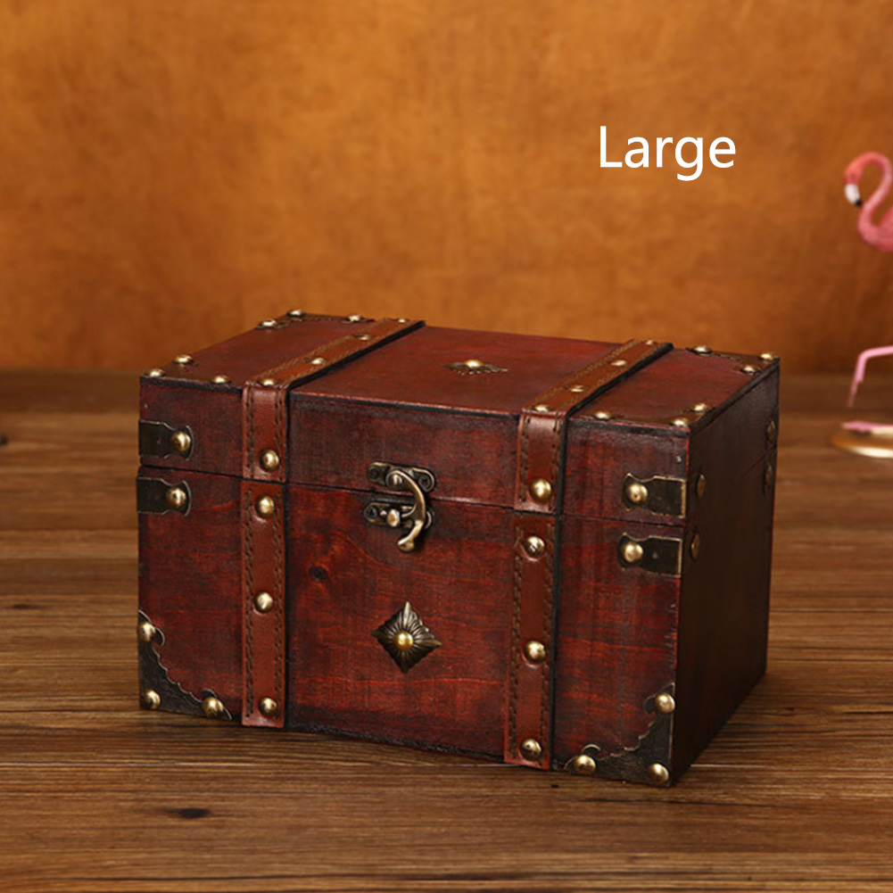 Toys Antique Bedroom Safe Storage Box Wooden Stationery Square Living Room Vintage Lockable Jewelry Wardrobe Multi Layer|Storage Boxes & Bins| - AliExpress