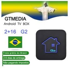 Gtmedia g2 android caixa de tv amlogic s905w widevine 2gbram + 16gbrom conjunto superior caixa 4k hd h.265 2.4g wifi media player caixa de tv url m3u