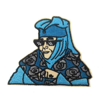 TV drama character Custom Embroidered Patch Badges Peripheral commemorative Patches Please send your DESIGN No MOQ image