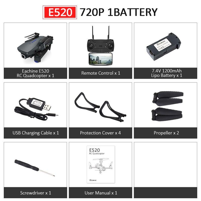 E520 720P 1Battery