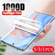 5/3/1Pcs for Samsung Galaxy s20 FE s10 lite s10e s9 s8 plus s7 note 20 Ultra 10 9 8 hydrogel film Not Glass screen protector