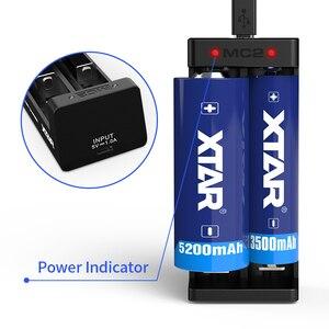 Image 2 - Xtar MC2 Di Động Sạc 5V Micro Dùng Nguồn USB 3.6 V/3/7 V IMR Inr Li ion pin 10440 26650 21700 21700 18650 Pin Sạc