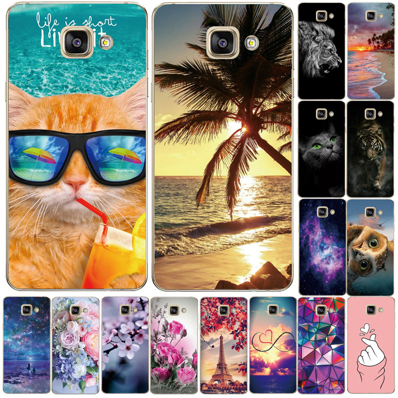 Soft Silicone TPU Case For Samsung Galaxy A3 A5 A7 2016 2017 Back Case For Samsung A310 A320 A510 A520 A710 A720 Phone Cove