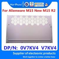 Laptop Neue original weiß Zurück Abdeckung Unten Basis Zugang Tür E Shell Für Dell Alienware M15 Neue M15 R2 0V7KV4 v7KV4 AM2KH000P11