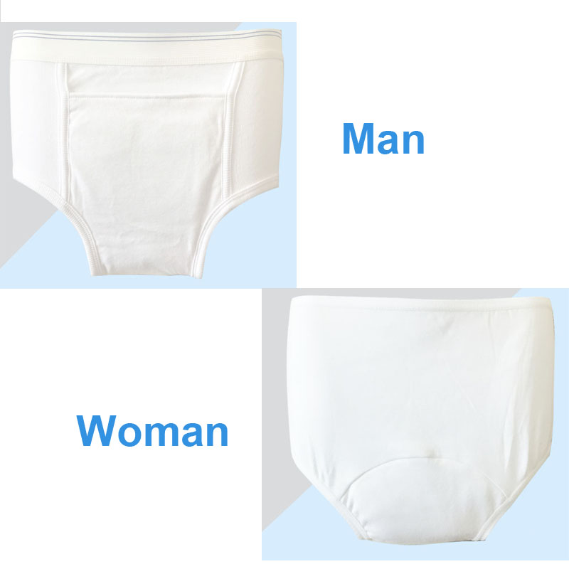 Adult Diapers Man Woman Can Wash Cloth Diapers Old Urine Does Not Wet Diaper Pants Incontinence Waterproof Cotton Diaper