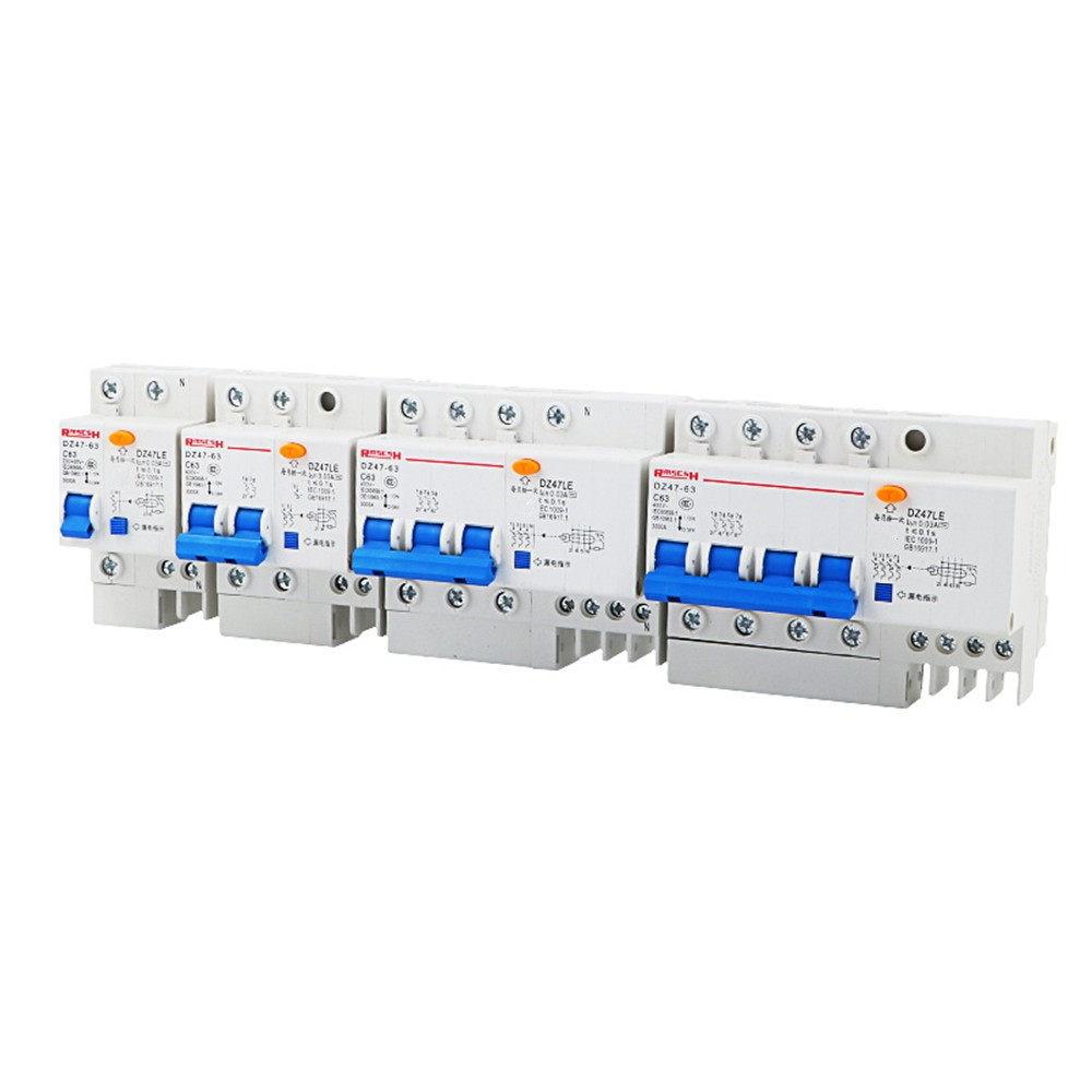400V Miniature Circuit Breaker-2P/_1A Circuit Breaker Type B Mcb Ac 2 Mast 1A 6A 10A 16A 25A 32A 40A 63A 230V 36Mm 4.5Ka 50 60Hz 110V
